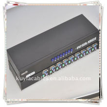 Brand 8port Ps2 Kvm Switch for controlling eight computers