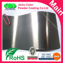 Highly protective transparent clear powder coating