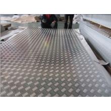 Placa de piso de alumínio à prova de proteção