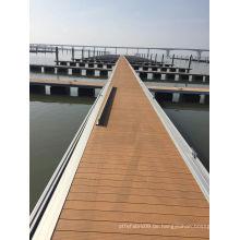 WPC Dock WPC Decking DIY Decking Holz Kunststoff Composite Decking