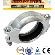 304 4/6inch Stainless Steel Grooved Clamp Pipe Fittings