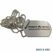 Stainless Steel Army Dog Tag with Printer