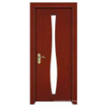 Stylish Hot Sale Simple Classical Design Solid Wooden Door
