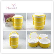 Lebensmittelqualität Kunststoff 3-Schicht-Thermal-Lunch-Box