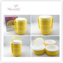 Food Grade Plastic 3 Layer Thermal Lunch Box