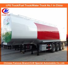 Clw 4 Axles Oil Transport Tanker Fuel Palm Oil Tanker Semi Trailers 60, 000 Liters for Sale
