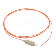 Multi Mode mm Lszh/PVC 0.9mm Sc Fiber Optic Pigtail