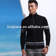 2016 design men's sweater pullover with zip