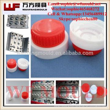 Moldeo de tapón de aceite de diferentes tamaños / plástico Moldeo por inyección de tapón de aceite / 16 Inyección de plástico de cavidad Molde de tapón de aceite