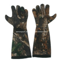 High Quality Wholesale Camo Neoprene Fishing Long Glove (SNNG05)