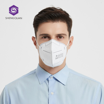 التوصيل السريع FFP2 5-Ply Dust Face Protection