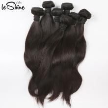 Klasse 7A Großhandel Brasilianische Seidige Gerade Reine Menschenhaarverlängerung Peruanisches 100% Nerz Haar Remy Haar