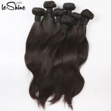 Grado 7A al por mayor brasileña sedosa recta virginal del pelo humano extensión peruana 100% visón pelo remy del pelo