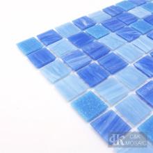 Azulejos de mosaico de vidrio con dibujos