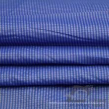 Wasser & Wind-resistent Outdoor Sportswear Daunenjacke Woven Striped Jacquard 25% Nylon + 75% Polyester Stoff (NJ047)