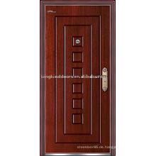 Hohes Maß an Sicherheit Tür gepanzerte Tür (JKD-212) Stahl Holz Außentür