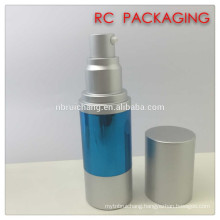 30ml airless bottle,aluminium cosmetic airless bottle,spray pump bottle