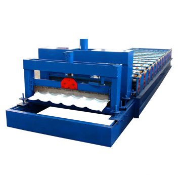 980 glazed metal roof tile making machine            new design 980 botou factory   980 glazed metal roof tile making machine             china Manufacturer  1. the advantage of Glazed Tile Roll Forming Machine china