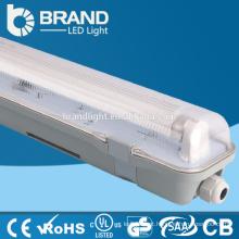 Zhongshan Fábrica Tubo Duplo 4ft 36W IP65 LED Tri-Prova Luz Para Garagem