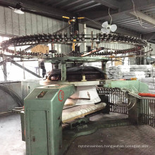 Used 34 Inch Xinlong Single Jersey Open Width Knitting Machine