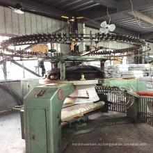 Используется 34 дюймов Xinlong Одноместный Джерси Open Width Knitting Machine