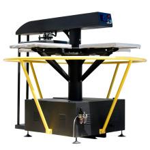Máquina de la prensa del calor de la impresión de la tela de Xinhong FJXHB5-1 cuatro estaciones para la venta