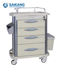 SKR-MT310 Durable Hospital ABS Emergency Medical Nursing Trolley