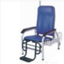 Chaise d'infusion d'hôpital en acier