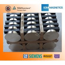 Kundenspezifische ISO / TS 16949 Certificated Large Permanent Magnet zum Verkauf