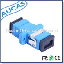 Adaptador de fibra óptica dúplex / LC / UPC SM Adaptador de fibra óptica dúplex / adaptador óptico de fibra con modo SM o MM