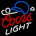 SEÑAL COORS LIGHT ILUMINADO