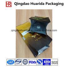 Пластичный Бортовой мешок gusset мешок кофейного зерна Упаковывая с клапаном