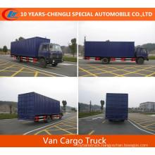 Dongfeng 5cbm~60cbm Van Cargo Truck Cargo Box Truck for Sale