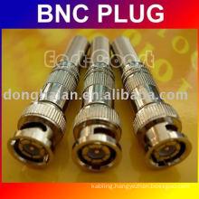 bnc plug with Spring