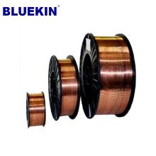 Alta qualidade de cobre cored co2 mig mag fio de soldagem preço btest