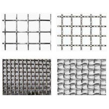 Stainless Steel Crimped Wire Mesh for Sale in Decoration