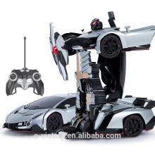 Remote Control transformation robot- car for children