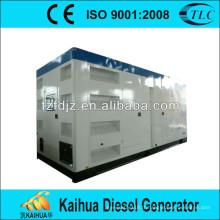 Groupe électrogène diesel silencieux de 1250Kva actionné par les magasins d'usine de perkins