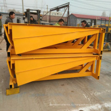 стационарная погрузочная рампа для тральеров, контейнерная гидравлическая разгрузочная платформа