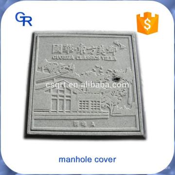 Buena apariencia personalizada FRP compuesto inspección bien tapas