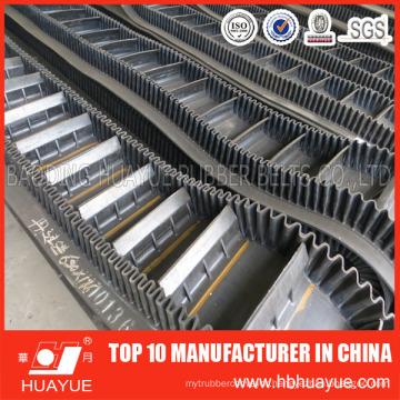 Sidewall Cleated Rubber Conveyor Belt