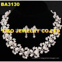 Ensemble de bijoux en cristal à la mode