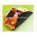 rubber foam coaster, rubber cup pad coaster
