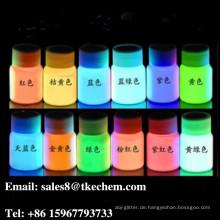 Im Dunkeln leuchten Pigment / Leuchtpulver