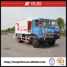 Contêiner desanexado o caminhão de lixo com fornecimento de China de alta qualidade e Marketing