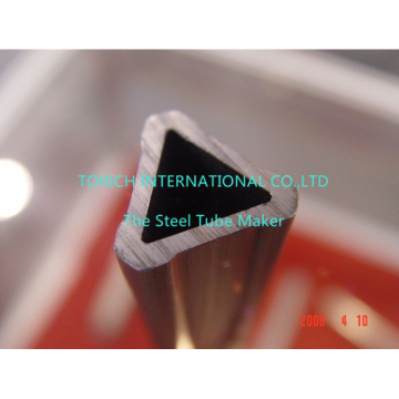 Cold Drawn Special Steel Tube Triangle Shaped uses for Mechanical engineering