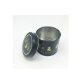 Cadeau Balck Color Metal Tin Can Canning Food Promotion