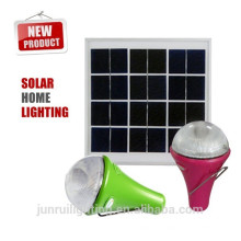 Nuevo CE Casa Solar LED iluminación/Camping luz Solar interior Lighting(JR-SL988)