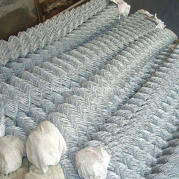electro galvanzied chain link mesh