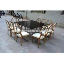 wooden wedding tables and chairs XYN275
